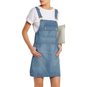 Frame Denim overall dress